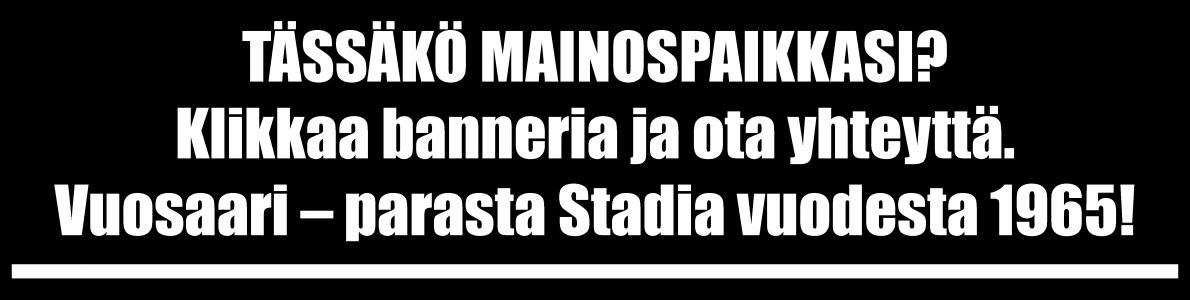 Iso YLÄBANNERI OMA 2019