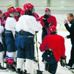 Viikinkien B-juniorit kiekkolegendan opissa