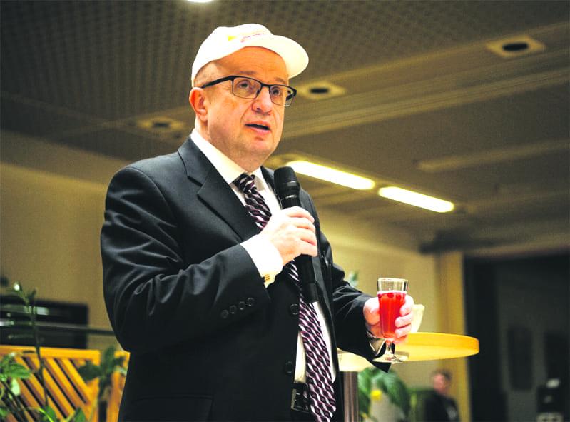 Vuosaarelainen akateemikko Markku Kulmala.