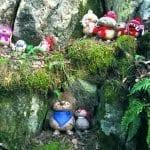 Uutelan kallioilla asusteli tällainen peikkoväki. Kuva: Katja Karjalainen