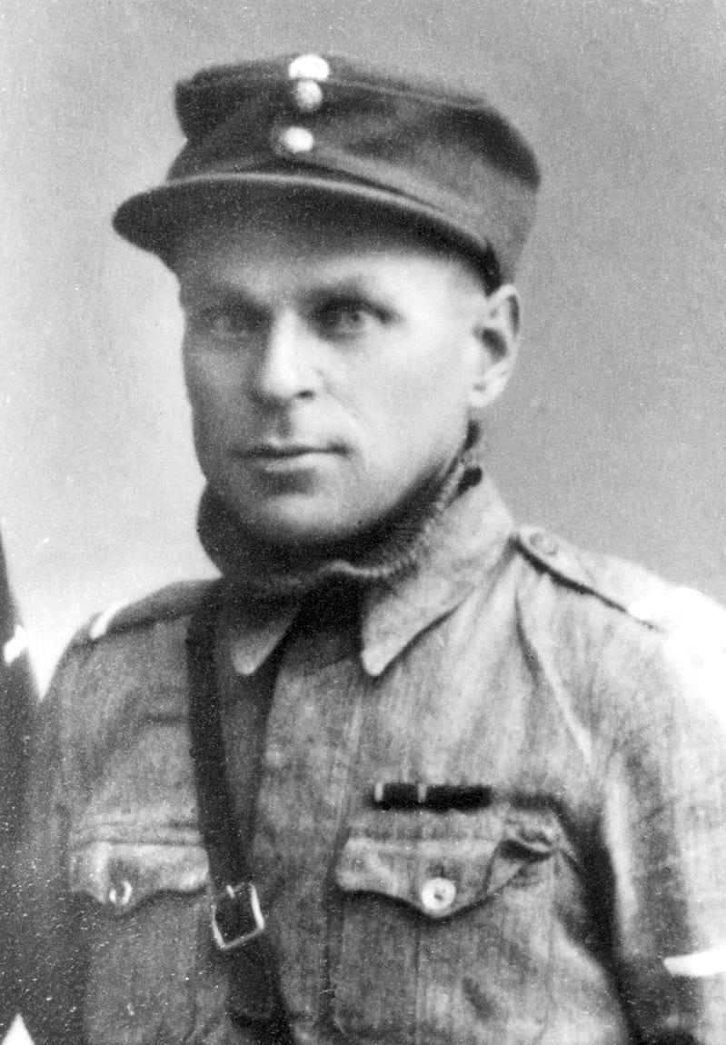 Arvid Janhunen syyskuussa 1941.