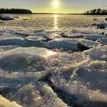 Jäätaidetta Kallvikissa