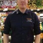 Atte Paronen aloitti kauppiaana Vuosaaren K-Marketeissa