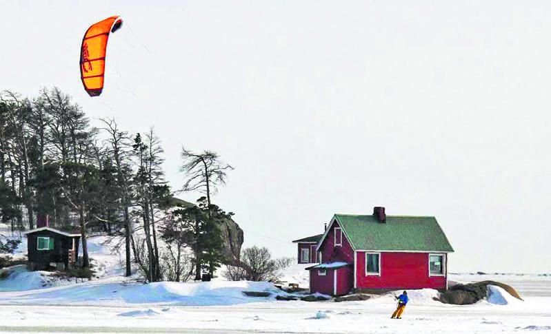Kaittaaja Kallvikissa.