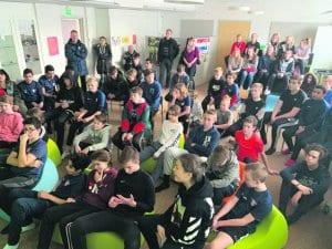 FC Viikinkien junioreita.