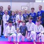 Helsingin Shukokain juniorikaratekoille menestystä SM-kisoissa