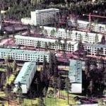Satamasaarentien ja Koukkusaarentien aluetta 1960-luvulla