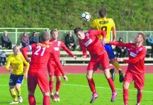 FC Viikinkien pelaajia.