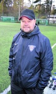FC Viikinkien joukkueenjohtaja Mika Forsman.