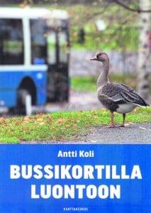 Bussikortilla luontoon -kirjan kansi.