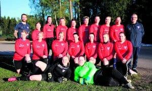 FC Viikinkien naisten kakkosjoukkue.