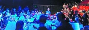 Vuosaaren musiikkikoulu.