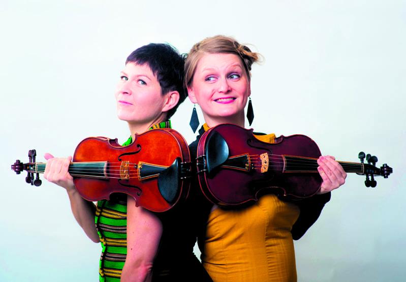 Duo Emilia Lajunen & Suvi Oskala