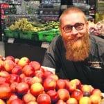 Sasu Hamina aloitti K-Supermarket Vuosaaren uutena kauppiaana