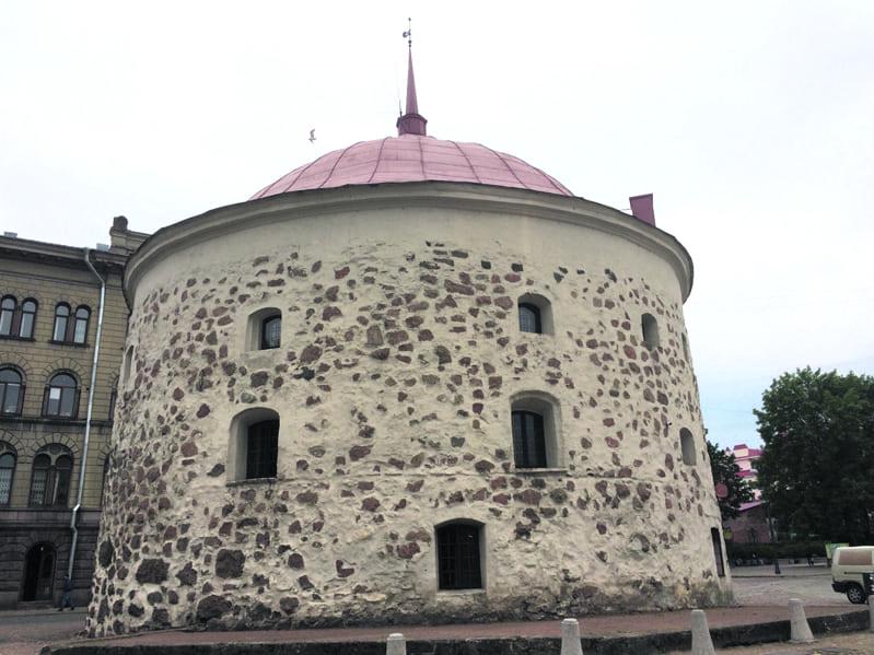 Viipurin pyöreä torni.