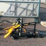 Kenen vastuulla on siivota pyöränromut metroasemalta?