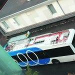 """""""Katoton"""" bussi kulkee sähköllä"""