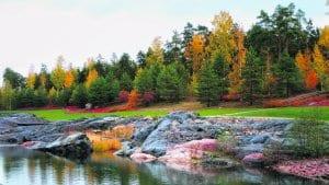 12.10. syksyä Kauniinilmanpuistossa. Terveisin Aage