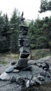 Hieno yllätys tämä kivipatsas Uutelassa. Terveisin Minni Vanhanen