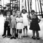 Marielundin tilalla vuonna 1958