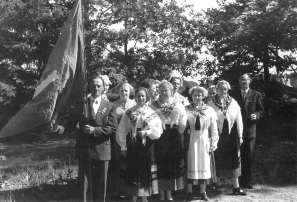 Nordsjö Sånkör vuonna 1944.