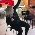 Jenni liikuttaa vuosaarelaisia