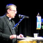 Juhlapuhujana oli Vuosaaren seurakunnan kirkkoherra Jussi Mäkelä.
