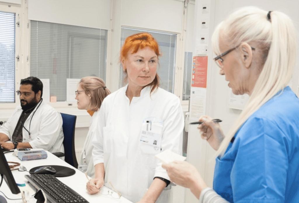Yhdessä mietitään paras ratkaisu potilaalle