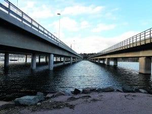 Vuosaaren sillan alitukseen liittyviin reitteihin toivottiin parannuksia. Kuva: Sanna Meriläinen