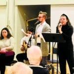 Hyvän päivän joulukonsertti järjestettiin Helander-kodissa