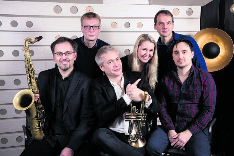 Jazzlaulaja Inna Vysotska ja The Untouchables -kvintetti