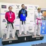 Vuosaarelaiselle Árpád Demeterille kolme kultaa taekwondon SM-kilpailuista