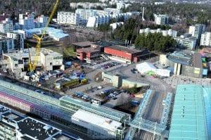 Suunnittelualue on Vuosaaren metroaseman, kauppakeskus Columbuksen, Vuotalon, Vuosaaren Urheilutalon ja uuden lukion vieressä.