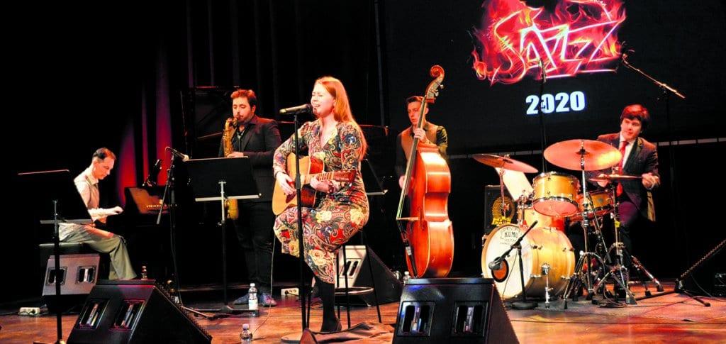 Charlotte Kerbs ja Sergei Sokolov Jazz Quartet.