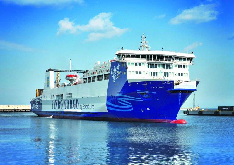 M/S Finbo Cargo. Kuva: Jarek Jõepera