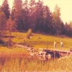 Porvarinlahden sillalla 1974 ja 2020