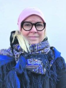 Riitta Puukko, +50 vuotta, myyntikoordinaattori, on asunut Vuosaaressa 13 vuotta. Hän asuu Keski-Vuosaaressa.