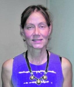 Ramsinrannassa asuva lähihoitaja-jalkojenhoitaja Outi Tiainen, 50+, on ollut vuosaarelainen noin 33 vuotta.