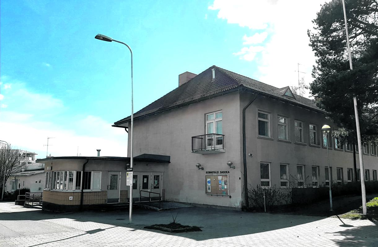 Kerhotalo Saseka on Sasekan tehtaan entinen ruokala. Se on rakennettu vuonna 1947.