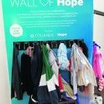 Wall of Hope yhdistää avun antajat ja tarvitsijat Columbuksessa