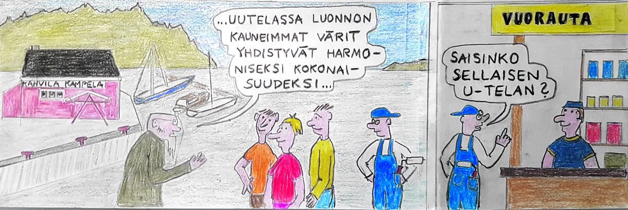 Sarjakuva: Mikko Tyynilä