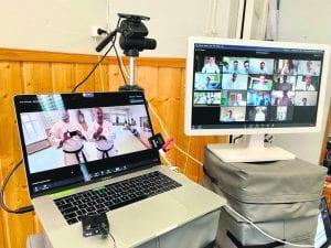 Korona-aika toi harjoituksiin mukaan videoharjoittelun.