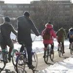 Tehostetun talvihoidon pyöräilyreittejä laajennetaan Vuosaareen