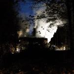 Rantakiventien vanha koulurakennus paloi poroksi