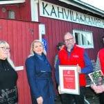 Sydänterveyden edistämisen alueellinen kunniamaininta Vuosaaren Joulupolulle