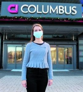 Karoliina Hurmerinta aloitti Columbuksen kauppakeskusjohtajana elokuussa 2019.