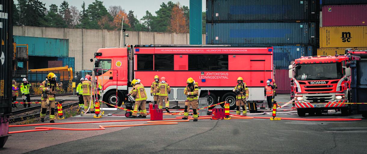 Kuva: Helsingin kaupungin pelastuslaitos