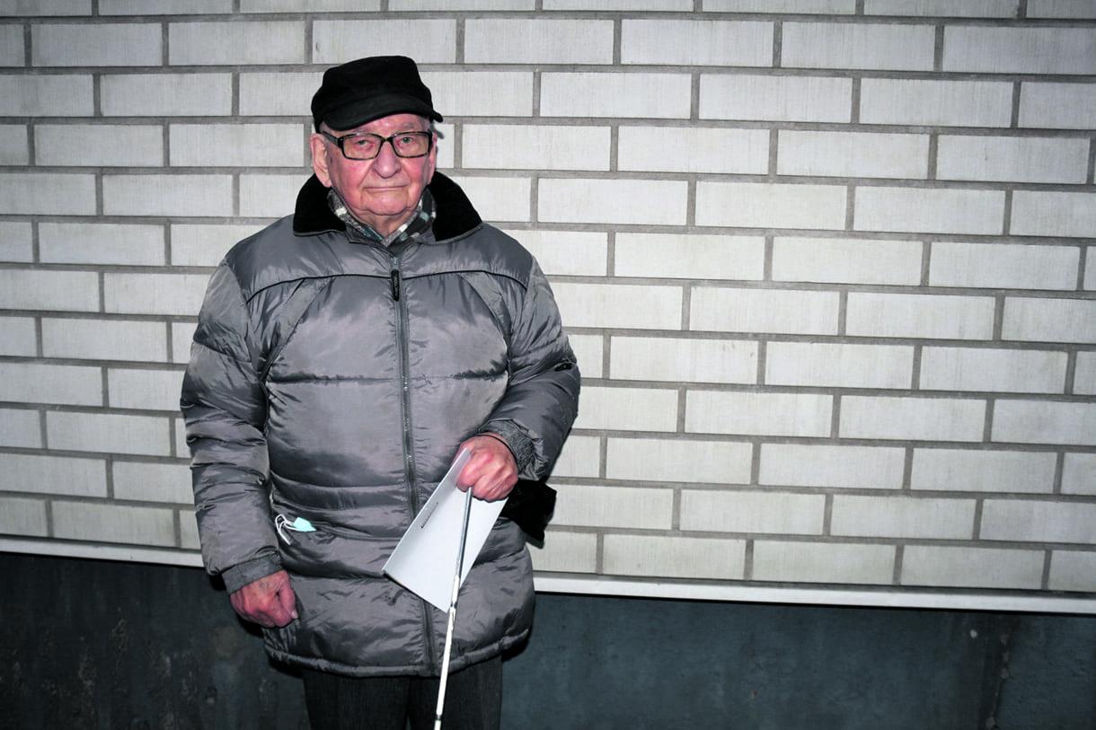 Reino Janhunen on asunut Satamasaarentiellä vuodesta 1966.