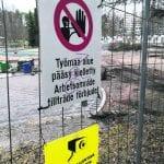 Lohikäärmepuisto ei vielä käytössä