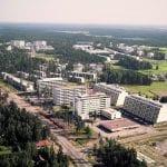 Kallvikintien ja Vuosaarentien risteys vuonna 1971